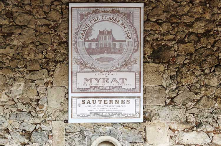 Sauternes Bordeaux river cruise
