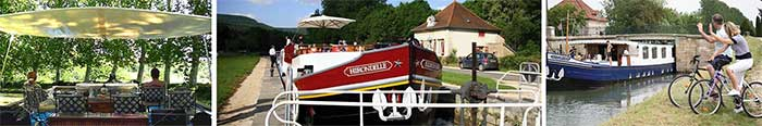 hotel barge france relax cycle