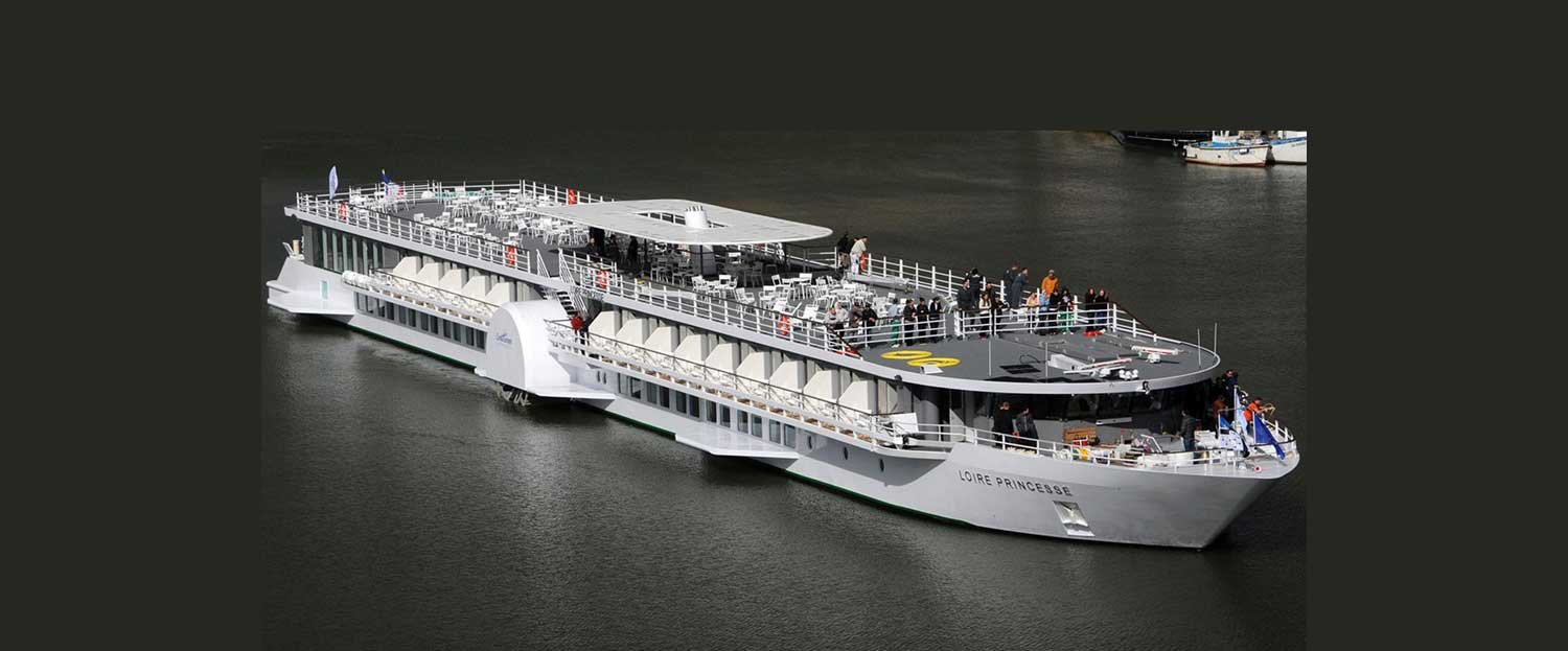 River cruises ship France