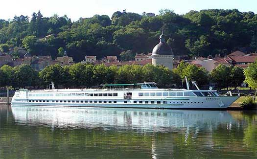River cruise France Saone Rhone Burgundy Lyon