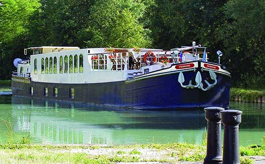 Hotel barge luxury cruise France Alsace Strasbourg