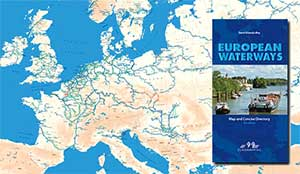 Map of the Inland Waterways of Europe | French Waterways