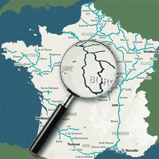 French waterways rivers canal navigation guide downloads