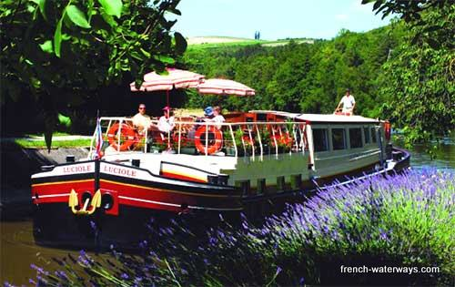 French canals luxury hotel barge cruise offers
