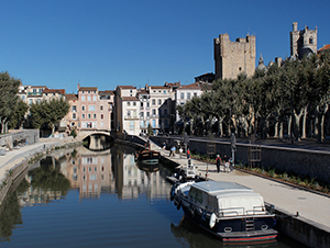 Narbonne boating holiday Midi La Nouvelle PK 16
