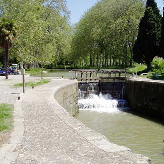 French waterways rivers canal navigation guide Canal du Midi