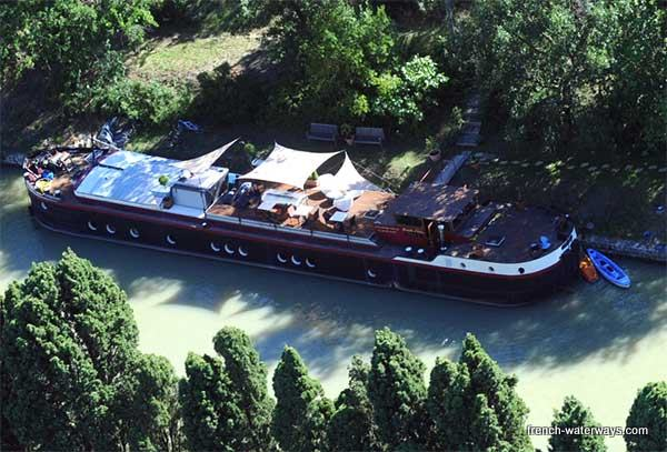 Hotel Barge Mirage - Carcassonne, Canal du Midi, France