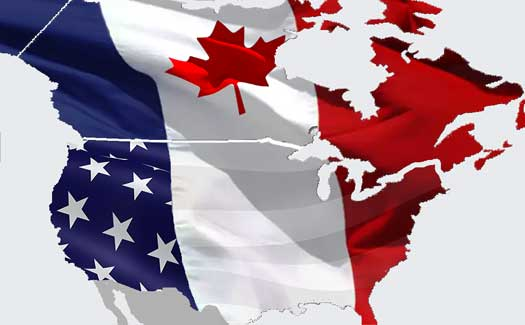 About France Americans Canadians