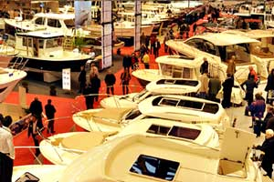 Visiting the Paris Boat Show