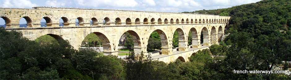UNESCO world heritage sites Pont du Gard Rhone