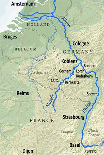 River Cruises in France Rhine and Strasbourg