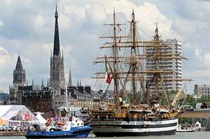 Rouen Tall Ships - click to enlarge