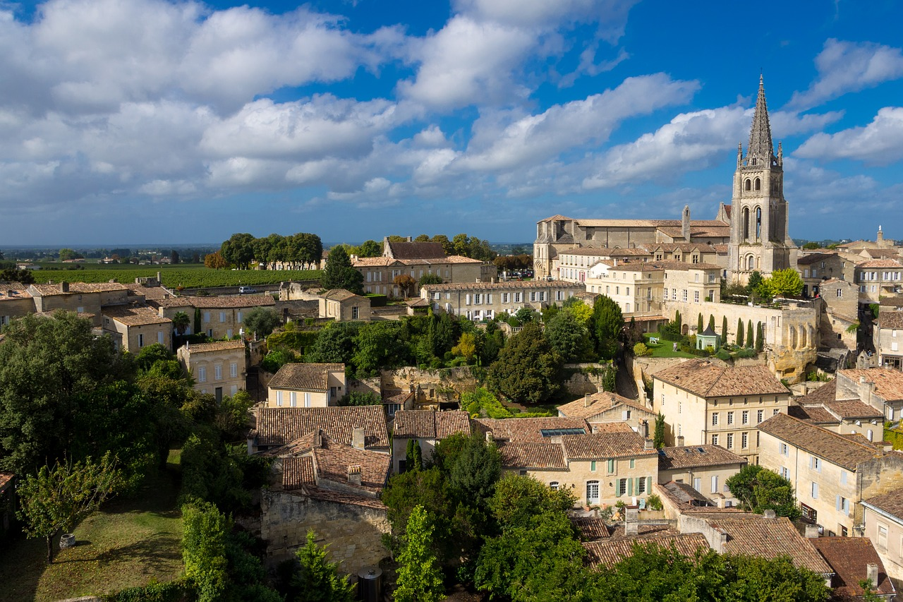 saint-emilion Bordeaux France